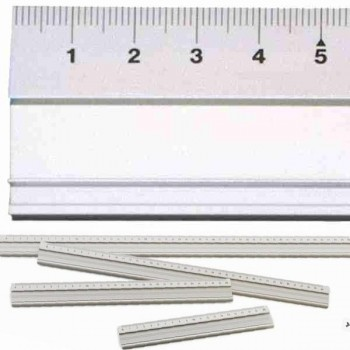Regla de aluminio 40 cm