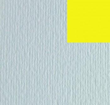 Cartulina texturizada con una superficie lisa y otra rugosa 220gr hoja 50x70cm color amarillo