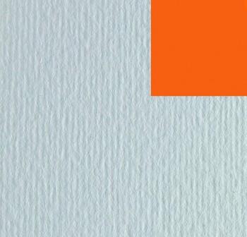 Cartulina texturizada con una superficie lisa y otra rugosa 220gr hoja 50x70cm color naranja intenso