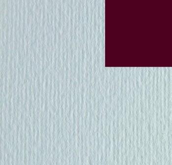 Cartulina texturizada con una superficie lisa y otra rugosa 220gr hoja 50x70cm color cereza