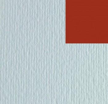 Cartulina texturizada con una superficie lisa y otra rugosa 220gr hoja 50x70cm color terracota