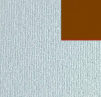 Cartulina texturizada con una superficie lisa y otra rugosa 220gr hoja 50x70cm color marrón