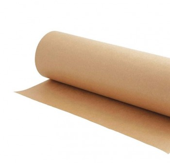 Bobina 10kg papel kraft verjurado 70gr color natural