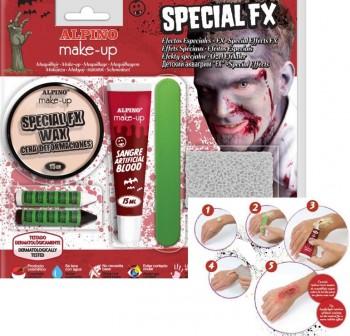 Blister maquillaje efectos especiales FX