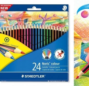 Estuche 24 l pices de colores noris club  colores surtidos