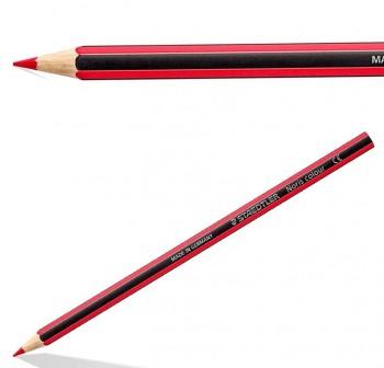 Caja  12 l pices de colores Staedtler noris club rojo