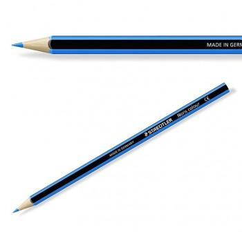 Caja 12 l pices de colores Staedtler noris club azul claro