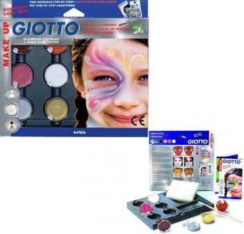 Estuche 6 sombras de maquillaje en acuarela gioto make up colores glamour