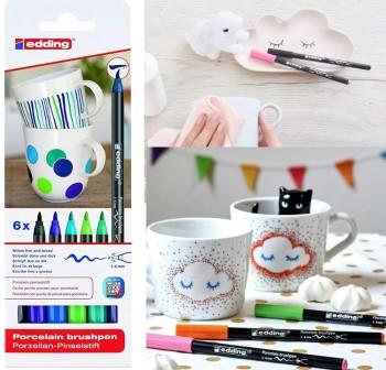 Blister rotuladores para porcelana colores Básicos