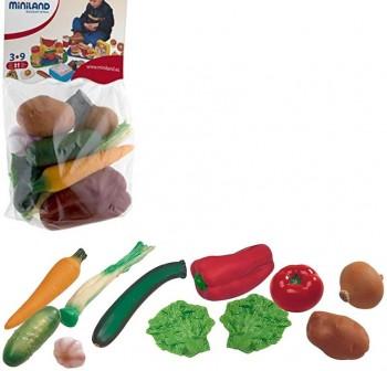 Bolsa de 11 pcs de hortalizas