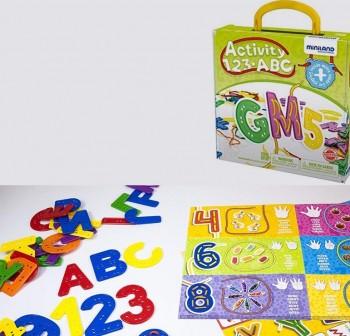 Juego Activity 123 ABC para descubrir la letras y los n meros