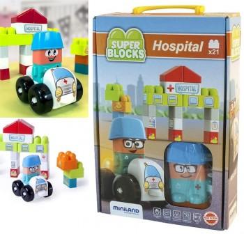 Juego Super Blocks: Hospital