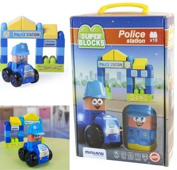 Juego Super Blocks: Polic¡a