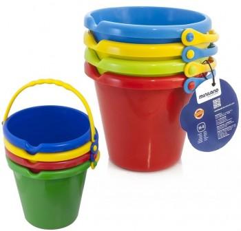 Set de 4 cubos de plástico flexible