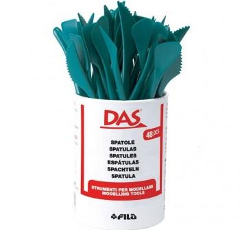 Palillos para modelar de plástico, Bote de 48 unid,