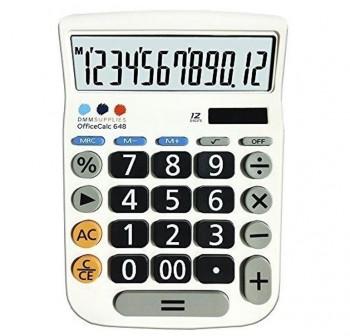 DMM Calculadora solar de sobremesa 12digitos MRC 648T