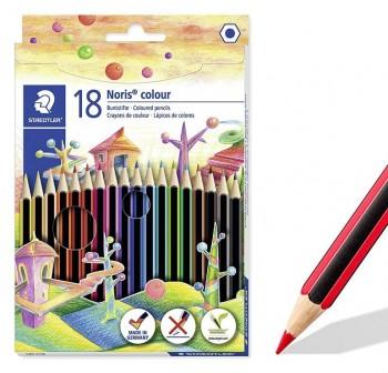 Staedtler Estuche 18 lápices de color Noris Colour colores surtidos
