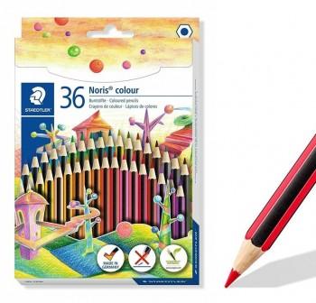 Staedtler Estuche 36 lápices de colores Noris Colour colores surtidos