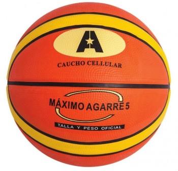 Amaya Balón de baloncesto  N.7 bicolor caucho (celular) oficial