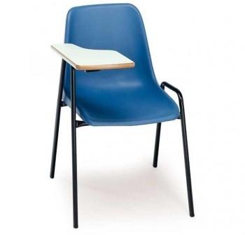 Tagar Silla escolar con pala derecha estructura negro 56x78x66cm altura asiento 45cm carcasa polipro