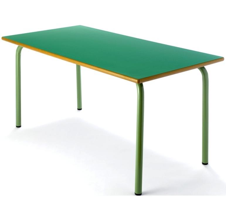 Tagar Mesa infantil rectangular estructura verde 110x54x55cm verde