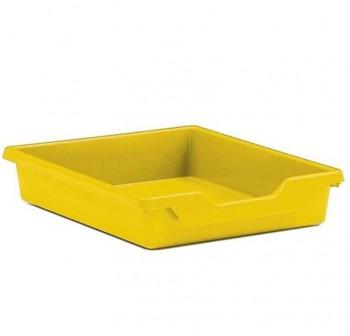 Tagar Gaveta polipropileno sencilla 7x31x37cm amarillo