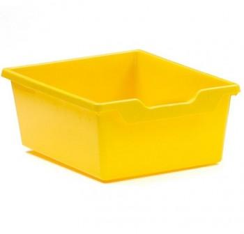 Tagar Gaveta polipropileno doble 15x31x37cm amarillo