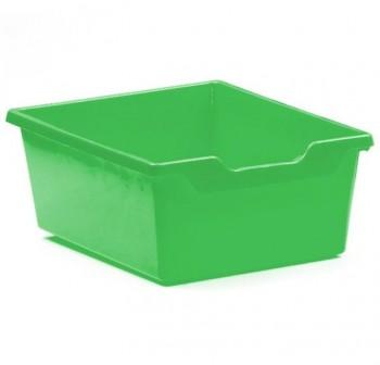 Tagar Gaveta polipropileno doble 15x31x37cm verde