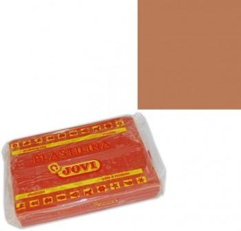 Pastilla de plastilina Jovi de 350gr marrón