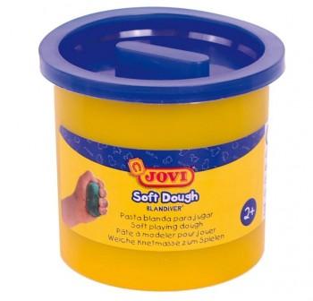 Bote de pasta blanda para modelar blandiver de 110grs azul claro