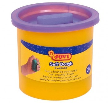Bote de pasta blanda para modelar blandiver de 460grs violeta