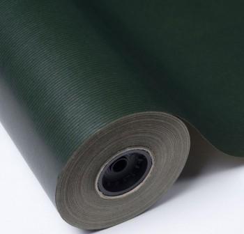 Rollo papel kraft gama nefertiti 1x25m verde musgo