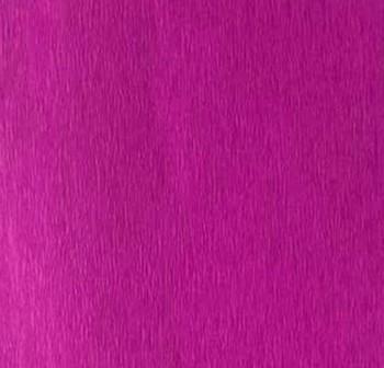 Rollo de papel crespon 0,5x2,50m  magenta