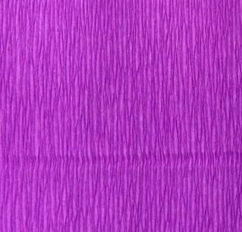 Rollo de papel crespon 0,5x2,50m  violeta