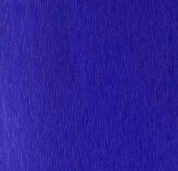 Rollo de papel crespon 0,5x2,50m  azul marino