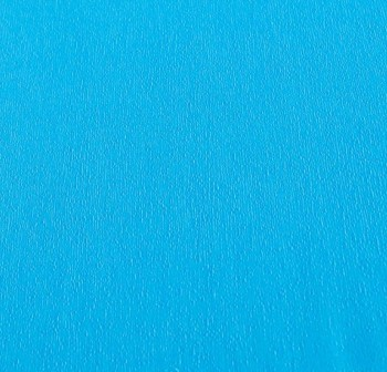 Rollo de papel crespon 0,5x2,50m  azul turquesa