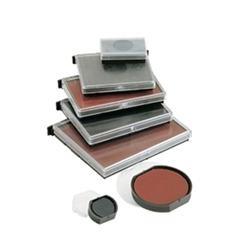 Blister 2 almohadillas Colop e-38 para printer 38, 38 DATER 33X56 mm azul