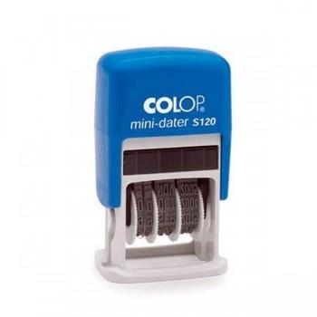 Sello automatico Colop formulario printer s120w 4mm