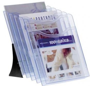 ARCHIVO2000 Expositor set A4 vertical modelo 6105 AZUL