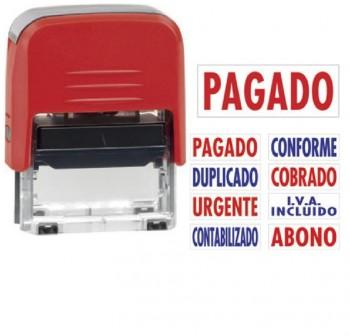 Sello automatico Colop contabilizado printer 20