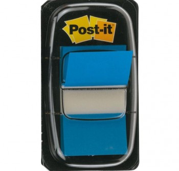 Dispensador notas index Post-it 680-23 color azul brillante