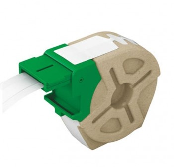 Cartucho de cinta continua de plástico Leitz Icon 10m x 12mm de ancho blanco