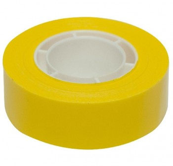 Rollo Cinta adhesiva APLI 19mmx33M amarillo