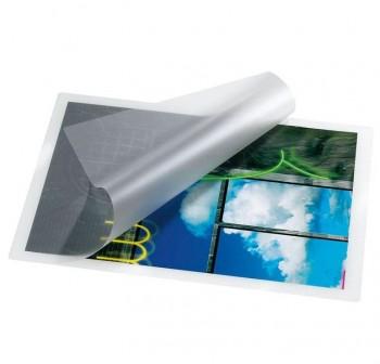 DEQUA Caja 100 fundas plastificación A3 125mic