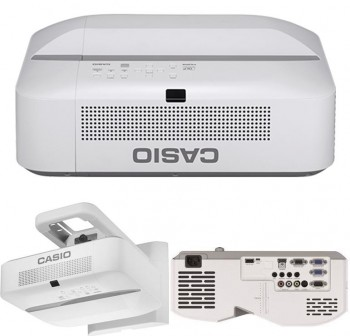 CASIO  Videoproyector ultra corto XJ-UT331X 3300AL, XGA, ratio 0,35:1 contraste 20000:1, 1,07 billon