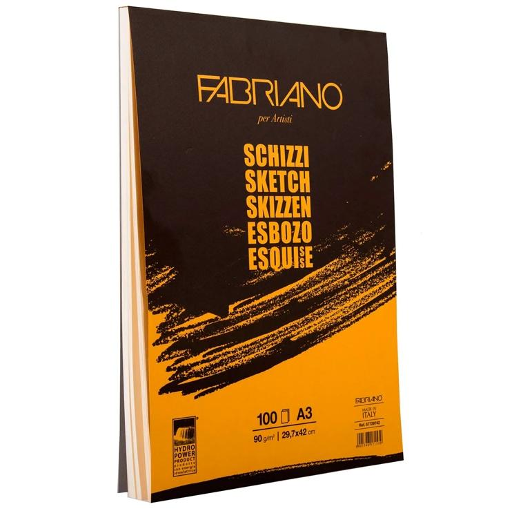 FABRIANO Block deesbozos 210x297 90gr. TOP