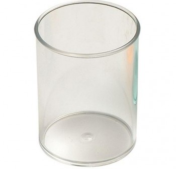 Cubilete plástico cristal transparente