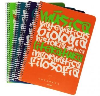 Cuaderno uniclase pp folio 80h cuadricula 4