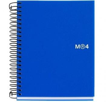 Cuaderno microperforado note book-4 basic a7 100h azul Miquel Rius