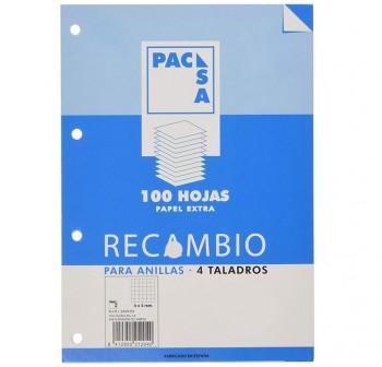 Recambio 100h 70 gr. multitaladro 4x4 tamaño folio